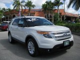 2011 White Suede Ford Explorer XLT #62757383