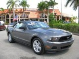 2011 Sterling Gray Metallic Ford Mustang V6 Convertible #62757382