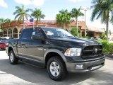 2009 Brilliant Black Crystal Pearl Dodge Ram 1500 TRX4 Crew Cab 4x4 #62757381