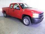 2012 Victory Red Chevrolet Silverado 1500 Work Truck Extended Cab #62757817