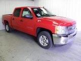2012 Victory Red Chevrolet Silverado 1500 LT Crew Cab #62757815
