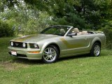 2006 Legend Lime Metallic Ford Mustang GT Premium Convertible #62757807