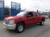 2012 Victory Red Chevrolet Silverado 1500 LT Extended Cab 4x4 #62757360