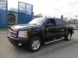 2012 Black Granite Metallic Chevrolet Silverado 1500 LT Crew Cab 4x4 #62757359