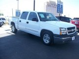 2005 Summit White Chevrolet Silverado 1500 LS Crew Cab #62757329