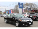 2010 Crystal Black Pearl Acura TSX V6 Sedan #62757315
