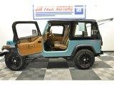 1995 Jeep Wrangler Teal Pearl