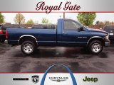 2004 Patriot Blue Pearl Dodge Ram 1500 ST Regular Cab 4x4 #62758195