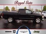 2002 Black Dodge Ram 1500 SLT Quad Cab #62758193