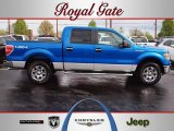 2010 Blue Flame Metallic Ford F150 XLT SuperCrew 4x4 #62758192