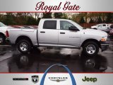 2012 Bright Silver Metallic Dodge Ram 1500 ST Crew Cab 4x4 #62758177
