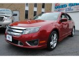 2010 Sangria Red Metallic Ford Fusion Sport #62758163