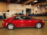 2008 Red Jewel Tint Coat Chevrolet Malibu LT Sedan #62757251
