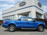 2012 Blue Flame Metallic Ford F150 STX SuperCab 4x4 #62757226