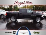 2012 Black Dodge Ram 1500 Sport Crew Cab 4x4 #62757181