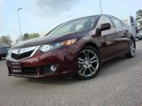 2009 Basque Red Pearl Acura TSX Sedan #62757176