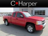 2008 Victory Red Chevrolet Silverado 1500 LT Extended Cab #62758109