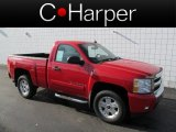 2008 Victory Red Chevrolet Silverado 1500 LT Regular Cab 4x4 #62758107