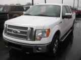 2011 Oxford White Ford F150 Lariat SuperCrew 4x4 #62757628
