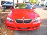 2006 Electric Red BMW 3 Series 325i Sedan #62757145