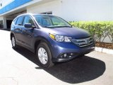 2012 Twilight Blue Metallic Honda CR-V EX-L #62757139