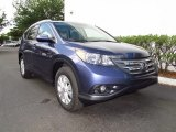 2012 Twilight Blue Metallic Honda CR-V EX-L #62757137