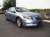 2012 Celestial Blue Metallic Honda Accord EX-L V6 Sedan #62757135