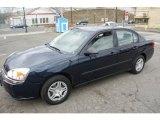 2005 Dark Blue Metallic Chevrolet Malibu Sedan #62757598