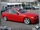 2009 Crimson Red BMW 3 Series 335i Convertible #62757581