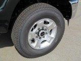 2012 Ford F250 Super Duty XLT Regular Cab 4x4 Wheel