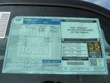 2012 Ford F250 Super Duty XLT Regular Cab 4x4 Window Sticker