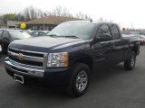 2009 Imperial Blue Metallic Chevrolet Silverado 1500 LS Extended Cab 4x4 #62758034
