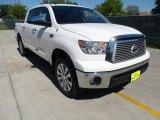 2012 Super White Toyota Tundra Platinum CrewMax 4x4 #62757560