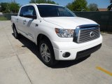 2012 Super White Toyota Tundra Limited CrewMax 4x4 #62757559