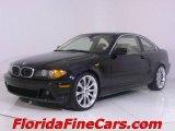 2004 Jet Black BMW 3 Series 325i Coupe #544143