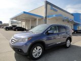 2012 Twilight Blue Metallic Honda CR-V EX 4WD #62758014