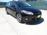 2012 Tuxedo Black Metallic Ford Focus SE Sport 5-Door #62757548