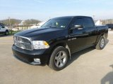2009 Brilliant Black Crystal Pearl Dodge Ram 1500 Laramie Crew Cab 4x4 #62757514