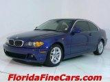 2004 Mystic Blue Metallic BMW 3 Series 325i Coupe #544127