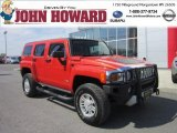2009 Victory Red Hummer H3  #62757958