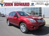 2012 Cayenne Red Nissan Rogue SV AWD #62757950