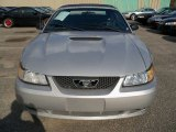 2000 Silver Metallic Ford Mustang V6 Convertible #62757477