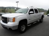 2007 Summit White GMC Sierra 2500HD SLE Crew Cab 4x4 #62757935