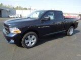 2012 True Blue Pearl Dodge Ram 1500 Express Quad Cab 4x4 #62757930