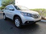 2012 Alabaster Silver Metallic Honda CR-V EX-L #62840392
