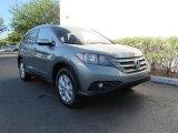 2012 Opal Sage Metallic Honda CR-V EX-L #62840391