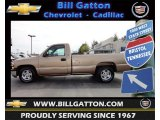 2000 Sunset Gold Metallic Chevrolet Silverado 1500 LS Regular Cab #62854082