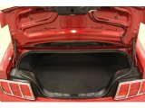 2006 Ford Mustang V6 Deluxe Coupe Trunk