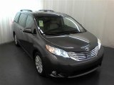 2012 Predawn Gray Mica Toyota Sienna Limited #62854028