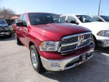 2012 Deep Cherry Red Crystal Pearl Dodge Ram 1500 Big Horn Quad Cab 4x4 #62865255